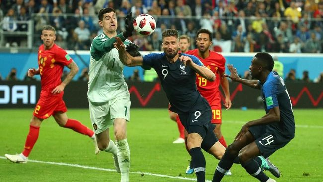 Laga final Piala Dunia 2018 antara timnas Prancis melawan Kroasia bakal menjadi duel beda karakter. Les Bleus tajam di sayap, Vatreni solid di tengah.