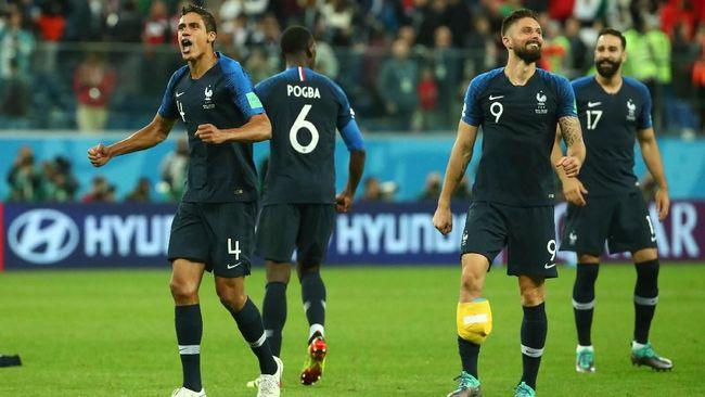 Timnas Prancis akan menghadapi Kroasia di final Piala Dunia 2018. Berikut prediksi jalannya laga tersebut.