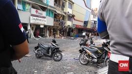 Ledakan di Kebayoran Baru Berasal dari Tabung Gas 12 Kg