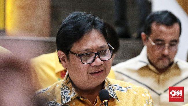 Menko Airlangga Hartarto meramal dampak stimulus fiskal penangkal 'infeksi' virus corona terasa mulai Juni.