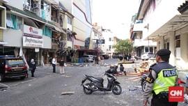 Dua Penjual Kopi Terluka Akibat Ledakan di Kebayoran Baru