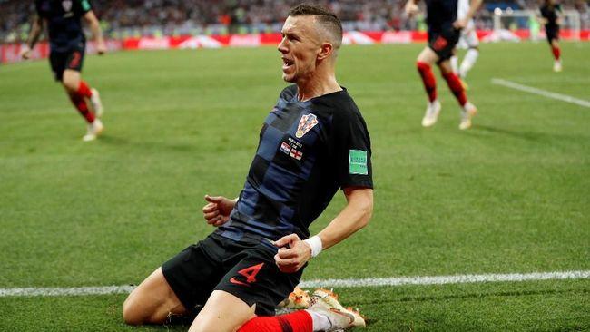 Pemain sayap timnas Kroasia Ivan Perisic bisa absen melawan Prancis di final Piala Dunia 2018 setelah karena mengalami cedera paha kiri.