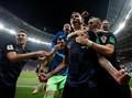 FOTO: Kroasia Kubur Ambisi Inggris Juara Piala Dunia 2018
