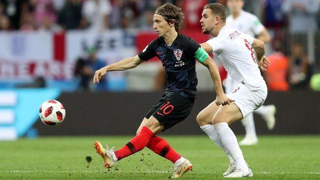 Modric: Inggris Seharusnya Lebih Menghormati Kroasia