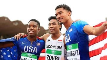 Semangat Juara Dunia Lari Lalu M Zohri yang Layak Dicontoh Anak