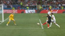 VIDEO: Cuplikan Gol Mandzukic Penentu Kroasia ke Final