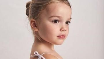 Cantiknya Ayla, Bocah 4 Tahun Asal London yang Mirip Boneka