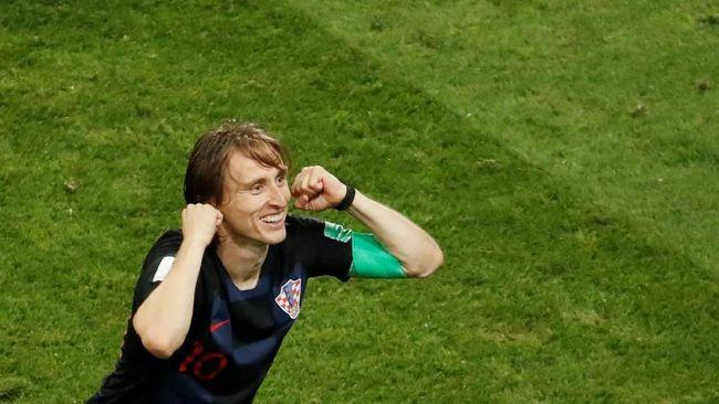 Luka Modric tak pernah kehilangan kepercayaan diri meski cibiran-cibiran soal tinggi badan kerap kali ditujukan pada dirinya.