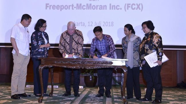 PT Inalum (Persero) menyatakan sudah memperoleh dana sebesar empat miliar dolar AS atau sekitar Rp58,4 triliun untuk membeli saham PT Freeport Indonesia.