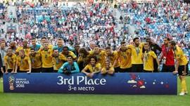 7 Fakta Kemenangan Belgia atas Inggris di Piala Dunia 2018