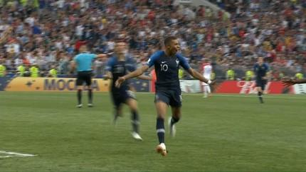 VIDEO: Gol Cantik Mbappe ke Gawang Kroasia