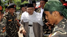Pembuat Kolase Ma'ruf-Kakek Sugiono Ketua MUI di Tanjungbalai