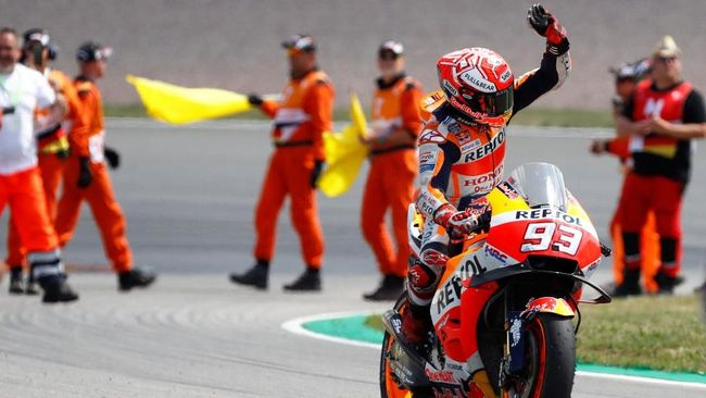 Marc Marquez menyatakan dirinya tak mau terlalu ambil risiko yang berujung blunder pada putaran kedua MotoGP 2018.