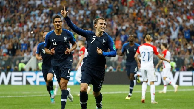 Setelah mendapatkan gelar juara Piala Dunia 2018, Antoine Griezmann akan merayakannya dengan pesta dengan rakyat Prancis.