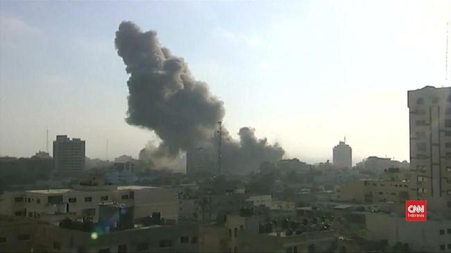 Israel Balas Serangan Udara ke Gaza