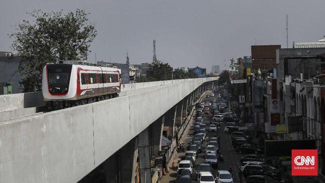 Pemprov DKI Akan Uji Operasional LRT Selama Asian Games