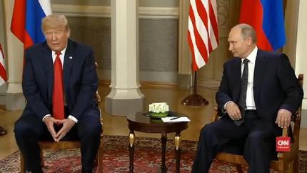 VIDEO: Trump Ucapkan Selamat atas Sukses Piala Dunia Rusia