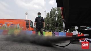 Anies Terapkan PSBB DKI, Kendaraan Masih Sumbang Polusi Udara