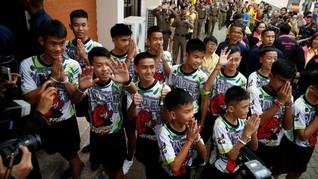 Netflix Garap Serial Penyelamatan 12 Remaja dari Gua Thailand