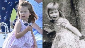 Mirip Banget! Foto Masa Kecil Lady Diana dan Putri Charlotte