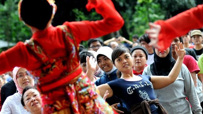 Bandung International Art Festival (BIAF) 2018 bakal mengajak 2.500 penari internasional 'jaipongan' di tengah Kota Bandung.