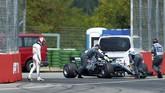 Pebalap tuan rumah Sebastian Vettel sukses merebut pole GP Jerman di Sirkuit Hockenheim dengan mengalahkan Valtteri Bottas dan Kimi Raikkonen.