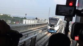 VIDEO: Uji Coba LRT Palembang Sampai Akhir Juli