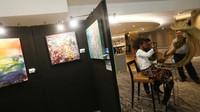 <p>Beginilah suasana di ruang pameran, Bun. (Foto: Ari Saputra)</p>