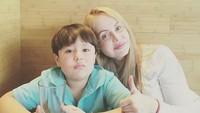 <p>Gaby memang sering banget menghabiskan waktu bersama Gabriel. (Foto: Instagram/ @gabyspanictv) </p>