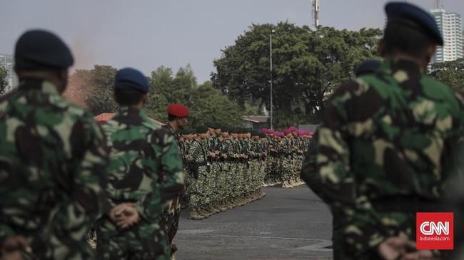 TNI Sudah Berangkatkan Pasukan Khusus Pemburu Teroris Sigi