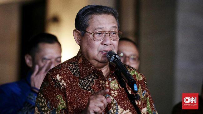 Ketua Majelis Tinggi Partai Demokrat Susilo Bambang Yudhoyono menyebut seorang presiden mudah kehilangan kepercayaan rakyatnya di era post-truth.