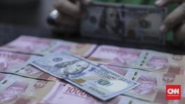 Rapat Bank Sentral Eropa Buat Rupiah Tertekan ke Rp14.765