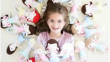 Kisah Bocah 10 Tahun Jahit Boneka untuk Anak yang Jalani Operasi