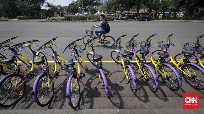 Aplikasi tersebut digunakan untuk mendaftar, membuka kunci serta melacak GPS di sepeda.