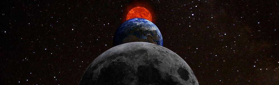 Terpukau Gerhana Bulan Total