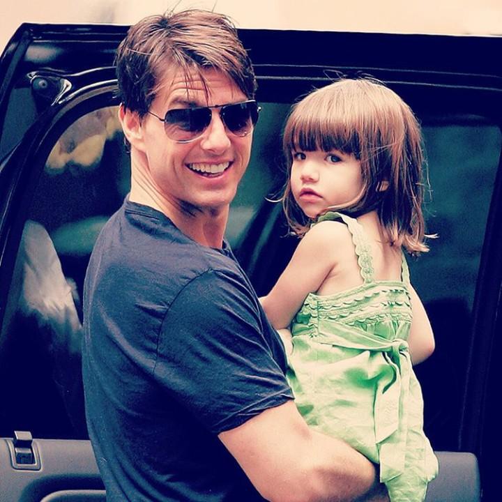 Yuk, throwback momen indah Tom Cruise bersama putri semata wayangnya, Suri Cruise.