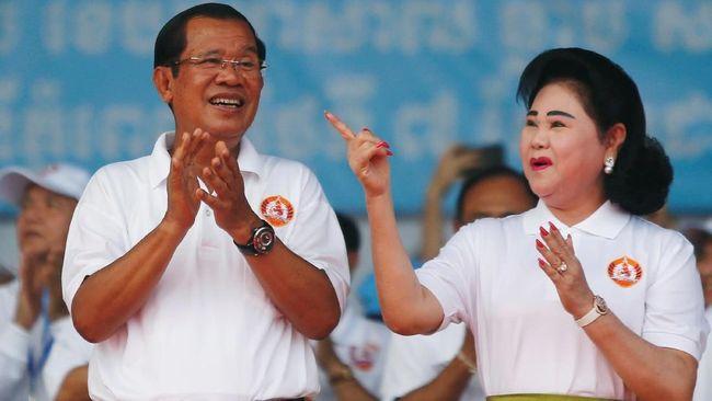 Pemerintah Kamboja menolak kabar dan wacana China akan membangun pangkalan militer di negara mereka.