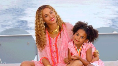 Aksi Putri Beyonce di Video Klip Soundtrack 'The Lion King'