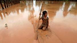 FOTO: Yang Tersisa dari Bendungan Jebol Laos