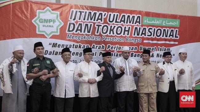 Sekjen Forum Umat Islam Al Khaththath yang ikut dalam rombongan menyatakan pertemuan dengan Prabowo hanya untuk bersilaturahmi.