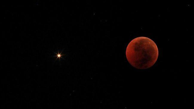 Gerhana Bulan Penumbra ketika Purnama Buck Moon 5