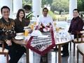 Jokowi Santap Siang Bersama Ketum Perindo, PSI, PKPI