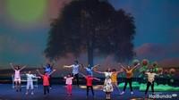 <p>Memperingati ulang tahun ke-25 Yayasan Ongkologi Anak Indonesia (YOAI), digelar drama musikal.</p>