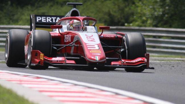 Tim Sean Gelael, Pertamina Prema Theodore Racing berhasil menembus posisi lima besar klasemen sementara Formula 2 2018.