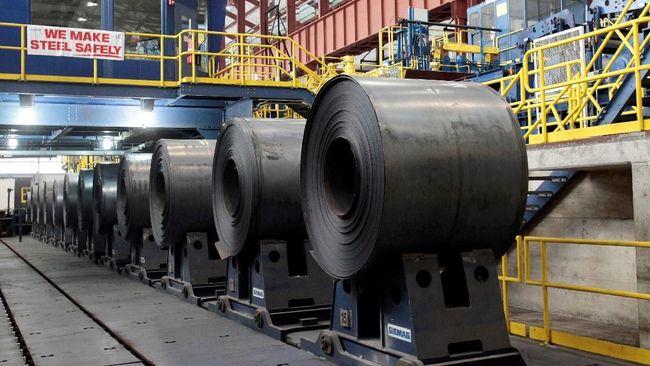 GDST JPRS Ada Sinyal Kebijakan Anti Dumping, 2 Saham Baja Melesat