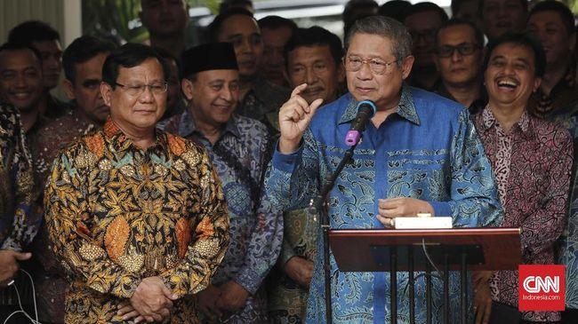 Sekjen Partai Gerindra Ahmad Muzani mengatakan SBY berjanji akan mengampanyekan Prabowo-Sandi, namun hingga kini belum pernah dilakukan.