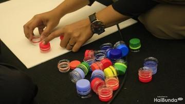 Foto: Serunya Membuat Mainan Edukasi DIY