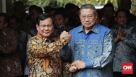 Prabowo Ingin SBY Menjadi Penasihat Tim Pemenangan