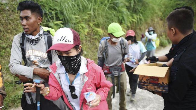 BNPB memprediksi masih ada kemungkinan gempa susulan terjadi di kawasan Lombok, NTB, dan bisa berdampak terhadap jalur pendakian Gunung Rinjani.