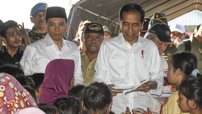 Korban gempa berharap jumlah bantuan dari Presiden Jokowi tidak dipukul rata, mengingat tingkat kerusakan rumah mereka berbeda-beda.